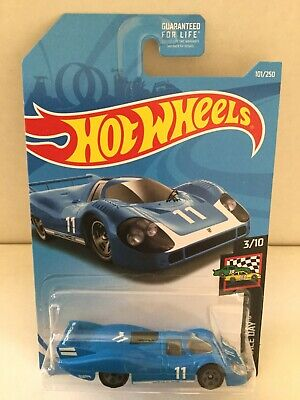 Hot Wheels PORSCHE 917 LH Race Car - 2019 #101 - Blue #11 Porsche Graphics