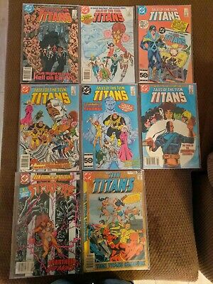 DC 1984 Tales of the Teen Titans Lot of (8) Comics - Condition Fine or (Best Teen Titans Comics)
