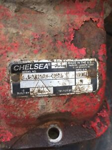 Chelsea PTO Wet Kit complete Ford ZF6 hydraulic tank with fluid