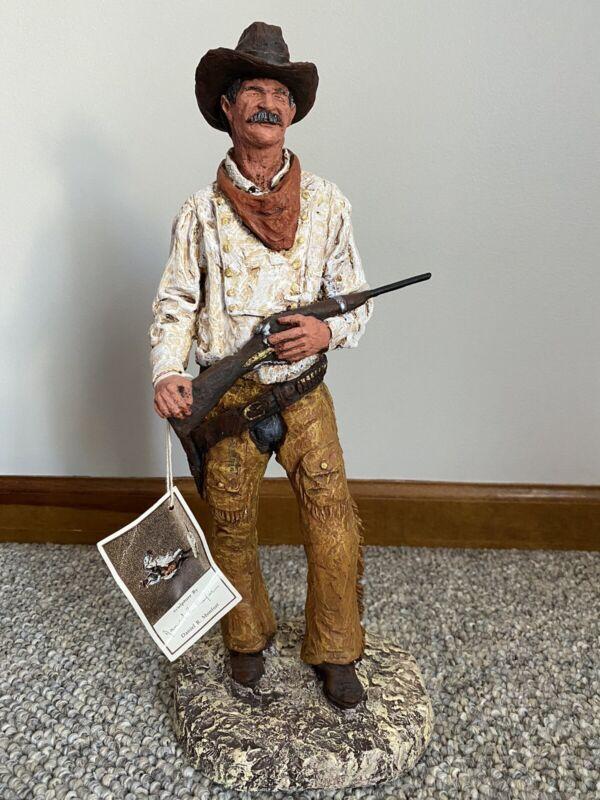 Original Daniel Monfort Western Cowboy Sculpture