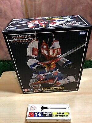 TRANSFORMERS MASTERPIECE MP-24 STAR SABER COMPLETE US SELLER W BOX W KFC ADD ONS