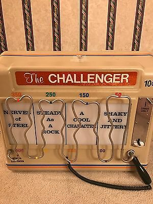 The Challenger Rare Vintage Arcade Game