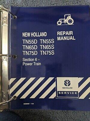 New Holland Tn55d Tn65d Tn75d Tn55s Tn65s Tn75s Tractor Service Repair Manual Nh