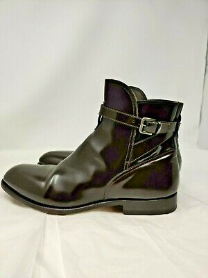 Armando Cabral Italy Men's Brown Leather Ankle boot Size EU 44 US SIZE 11