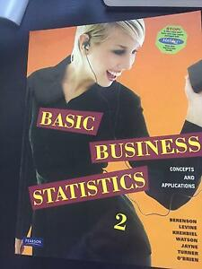 Basic Business Statistics Brisbane City Brisbane North West Preview