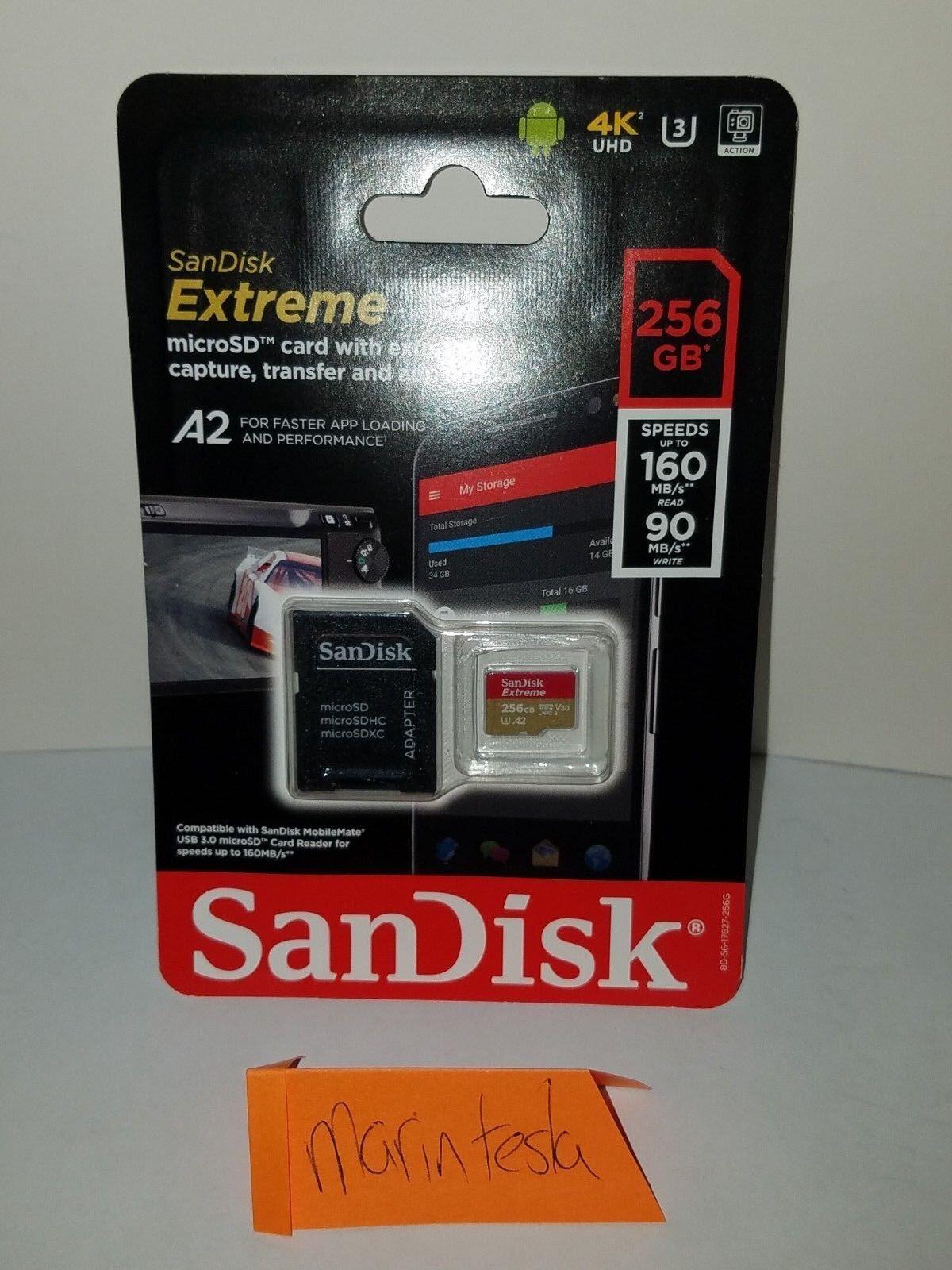 SanDisk Extreme Pro 256GB SDXC UHS-I Card