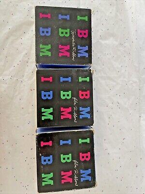 Vintage Ibm Typewriter Cartridge Film Carbon Ribbons Black 1010760 5121 Lot 3