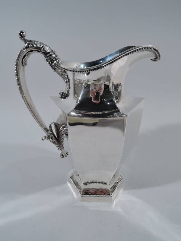 Wallace Water Pitcher - 515 - Antique Art Deco   American Sterling Silver