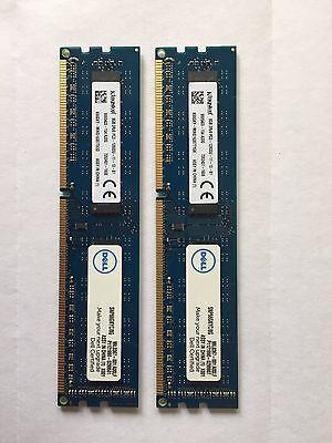 Kingston DDR3-1600 PC3-12800U 8GB x 2  = 16 GB