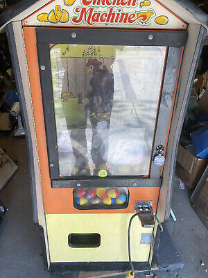 Vintage Coin Operated Chicken Machine vending pick up only