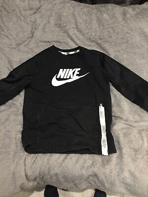 Mens Nike Jumper Black Size Medium