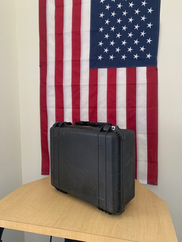 Pelican 1550 Hard Protector Case W/ Lid Organizer  -FREE SHIPPING-