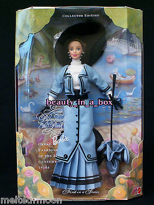 """Promenade in the Park 1910 10's Great Fashions of 20th Century Barbie Doll """""""
