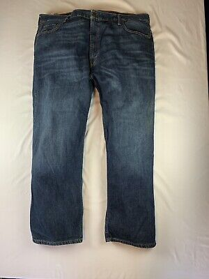Levis Mens 569 Blue Jeans Size 42x30