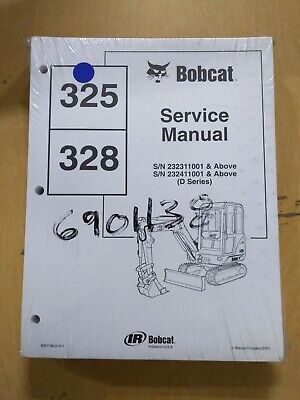 Bobcat 325 328 Service Manual