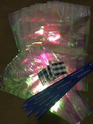 Bath & Body Works Cello Gift Bags, Gift Tags & Ribbons Huge 60 Piece -