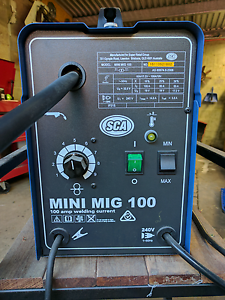 SCA 100 amp gasless mig welder Seacliff Holdfast Bay Preview