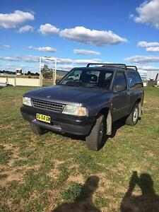 1996 Holden Frontera Wagon Windellama Goulburn City Preview