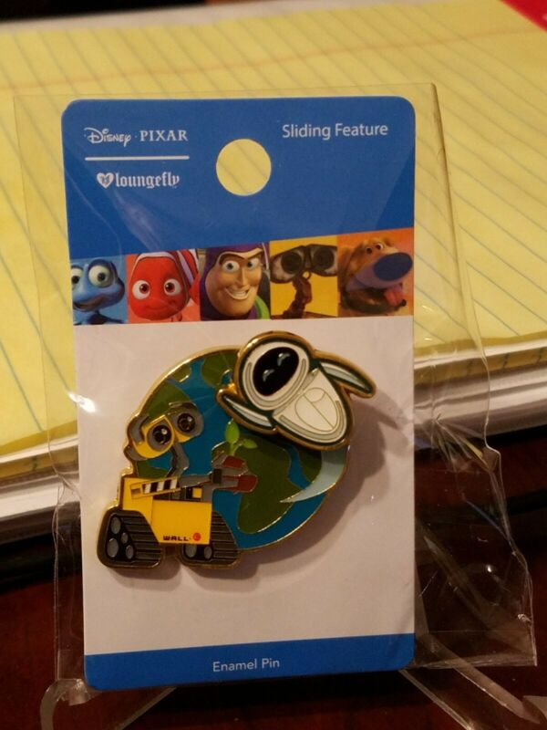 Disney Pin 129213 Loungefly Wall-E and Eve Slider Pin
