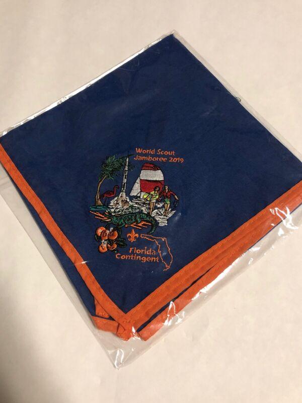 24th World Scout Jamboree 2019 Florida  Contingent Neckerchief New