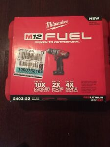Milwaukee Electric Tool 2403-22 M12 1/2 Inch Drill/Driver