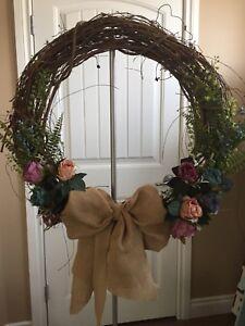 """Door Wreath  24"""" Multi-Color"""
