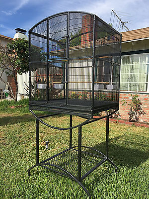 Elegant Double Front Doors 1/2 Inch Bar Spacing Cage For Small Size Birds 584