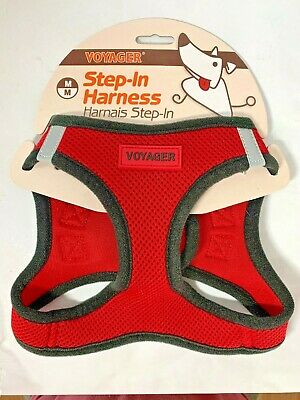 Voyager Best Pet All Weather No Pull Step-in Mesh Dog Harness with Padding, (Best Non Pull Dog Harness)