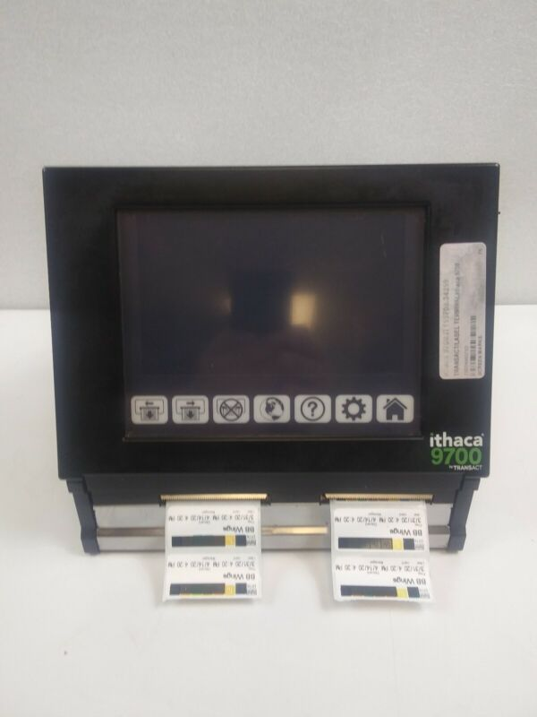 Ithaca Transact 9700 Automated Food Prep Rotation Labeler Thermal Printer*Tested