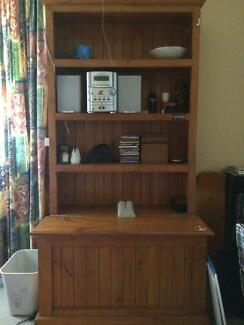Treated pine bookcase