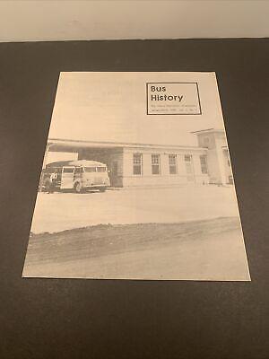 Bus History Magazine Jan-Mar. 1975 Bus History Association Airline Motor Coaches