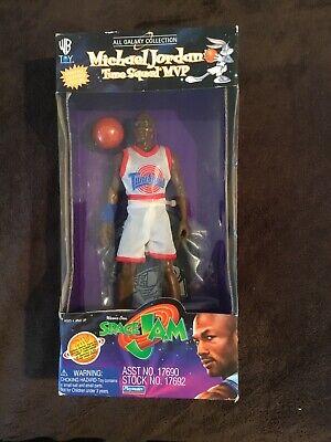 Vintage Space Jam Michael Jordan Tunes Squad  MVP Doll Chicago Bulls Bugs Bunny