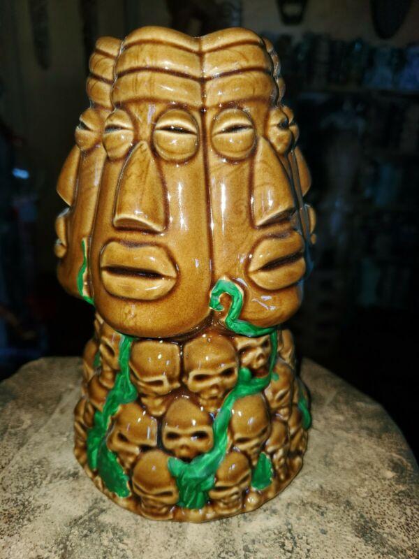 Shameful Tiki Room Vancouver Tiki Mug Maori Skull mug