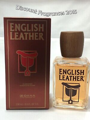 English Leather Cologne By Dana 8.0oz / 236 ml Cologne Splash Authentic For Men