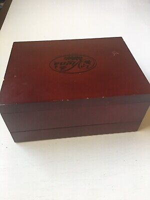 La Vigna Wine Accessories , Complete In Good Condition, Wood Carrie