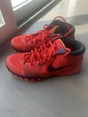 Nike Kyrie 1 Deceptive Red Black 705277-606 Sz 8.5 Basketball Shoes Men's LN