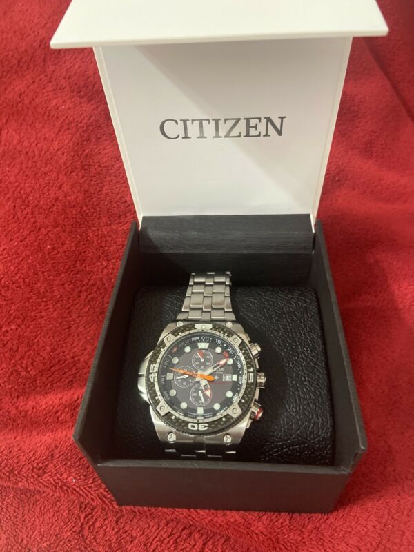 citizen eco-drive mens divers watch 200m Pro master Carbón Bj 2105-51E