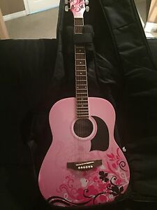 Disney guitar and gig bag