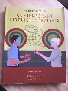 Contemporary linguistics analysis buy or sell books in edmonton contemporary linguistic analysis sixth edition 6th edition fandeluxe Choice Image