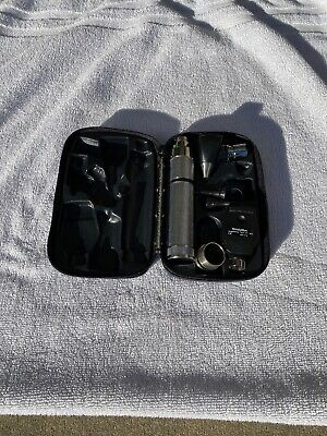 Welch Allyn 71050-c Diagnostic Set Otoscope Ophthalmoscope Plug In Handle Wmore