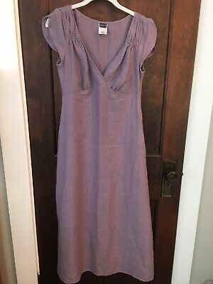 Patagonia Lavender Purple Organic Cotton Hemp Maxi Dress - Size 2 - Casual Lavender Dress