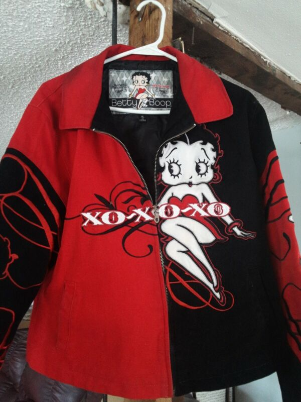 HTF JH Design Betty Boop Xl Jacket