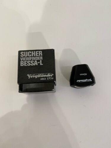 Voigtlander 40mm View Finder Viewfinder - Excellent condition in original box.