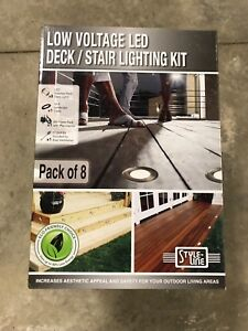 LED deck lights, in box never opened