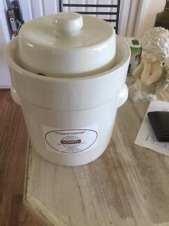 Sauerkraut Stoneware Crock