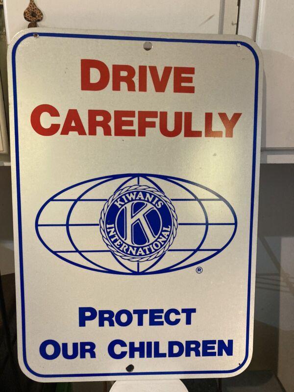Kiwanis International Metal Street Sign