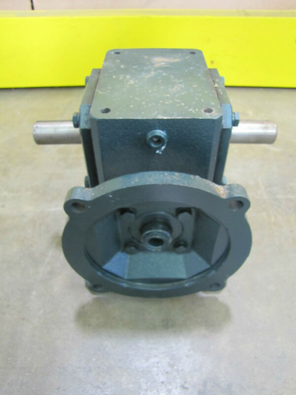 "GROVE UMQ11751 GEAR FLEXALINE GEARBOX SPEED REDUCER DOUBLE OUTPUT 15:1 5/8"" 7/8"""