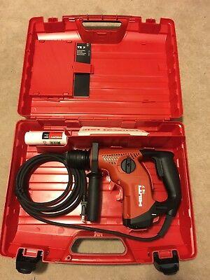 Hilti Model Te-7 120-volt Sds-plus Compact Hammer Drill Factory New In Case