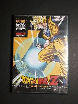 Dragon Ball Z: The Best of Goku Top 7 Fights Full-Length Uncut (DVD,