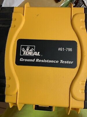Ideal Earth Ground Resistance Tester. 61-796 Only Used Once. Free Shipping.